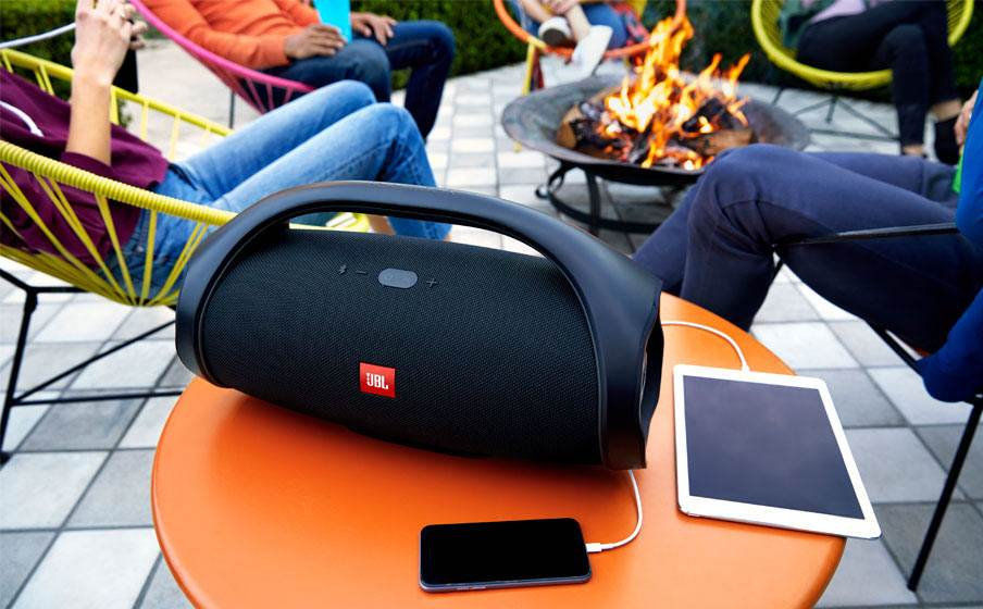 JBL Boombox pool party speaker