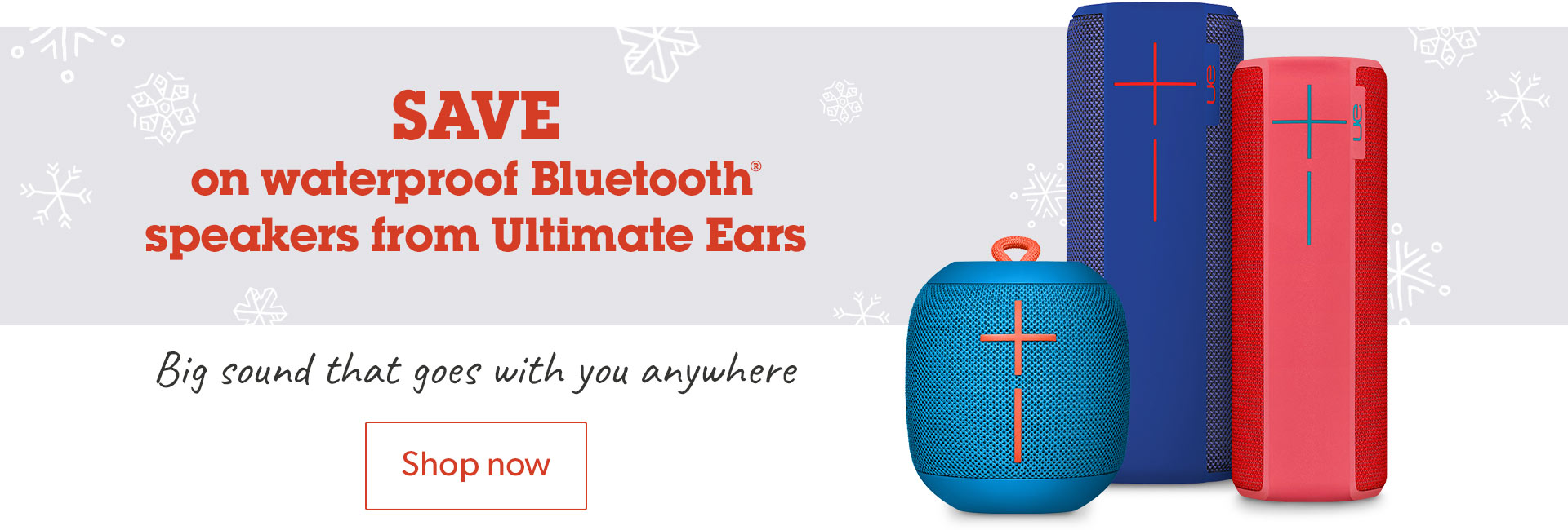 Save on waterproof Bluetooth® speakers from Ultimate Ears