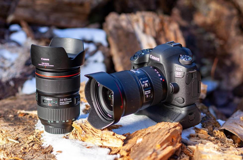 Canon 6D Mark II and two L-Series lenses