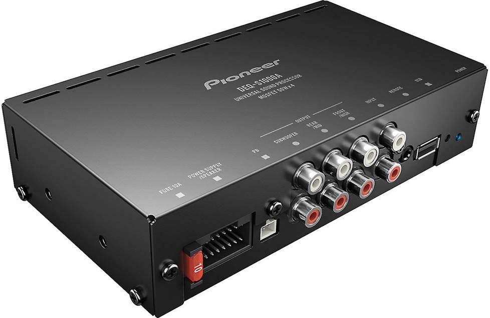 Pioneer DEQ-S1000A amp with DSP