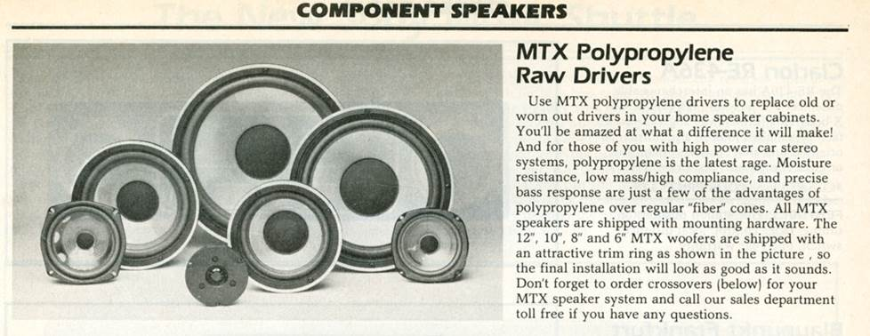 MTX raw drivers