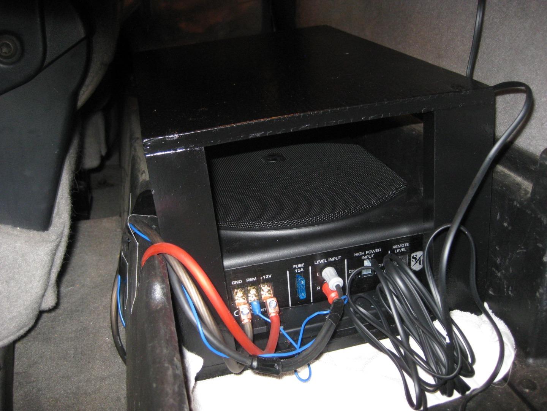 a5e0b5ef0ea Sound Ordnance B-8PTD 125-watt compact powered subwoofer at ...