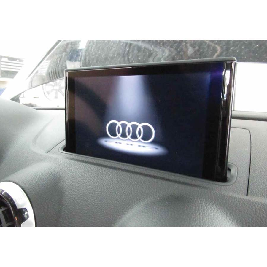2017 Audi S3 Navigation screen