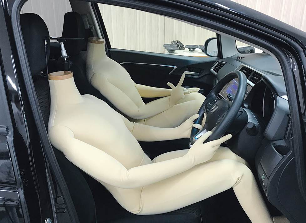 in-car audio testing with mannequins