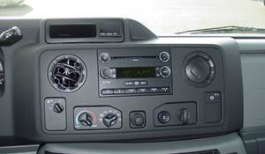 2015 Ford E-450 Factory Radio