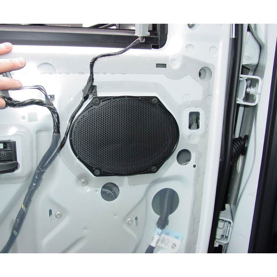 2017 Ford E-450 Front door speaker