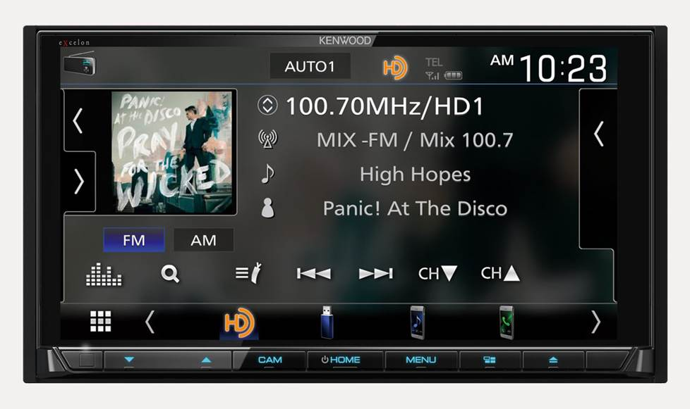 HD Radio display information