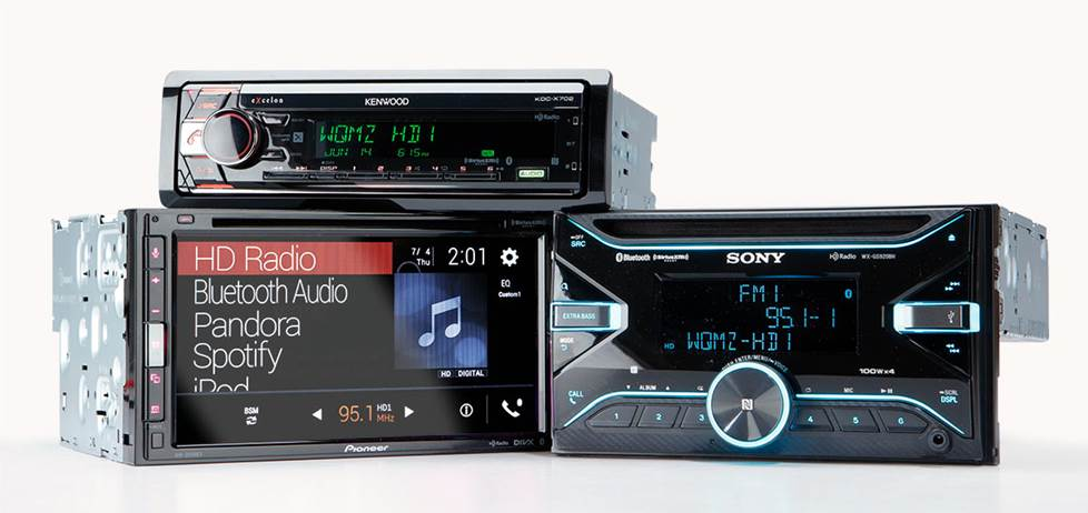3 car stereo head units