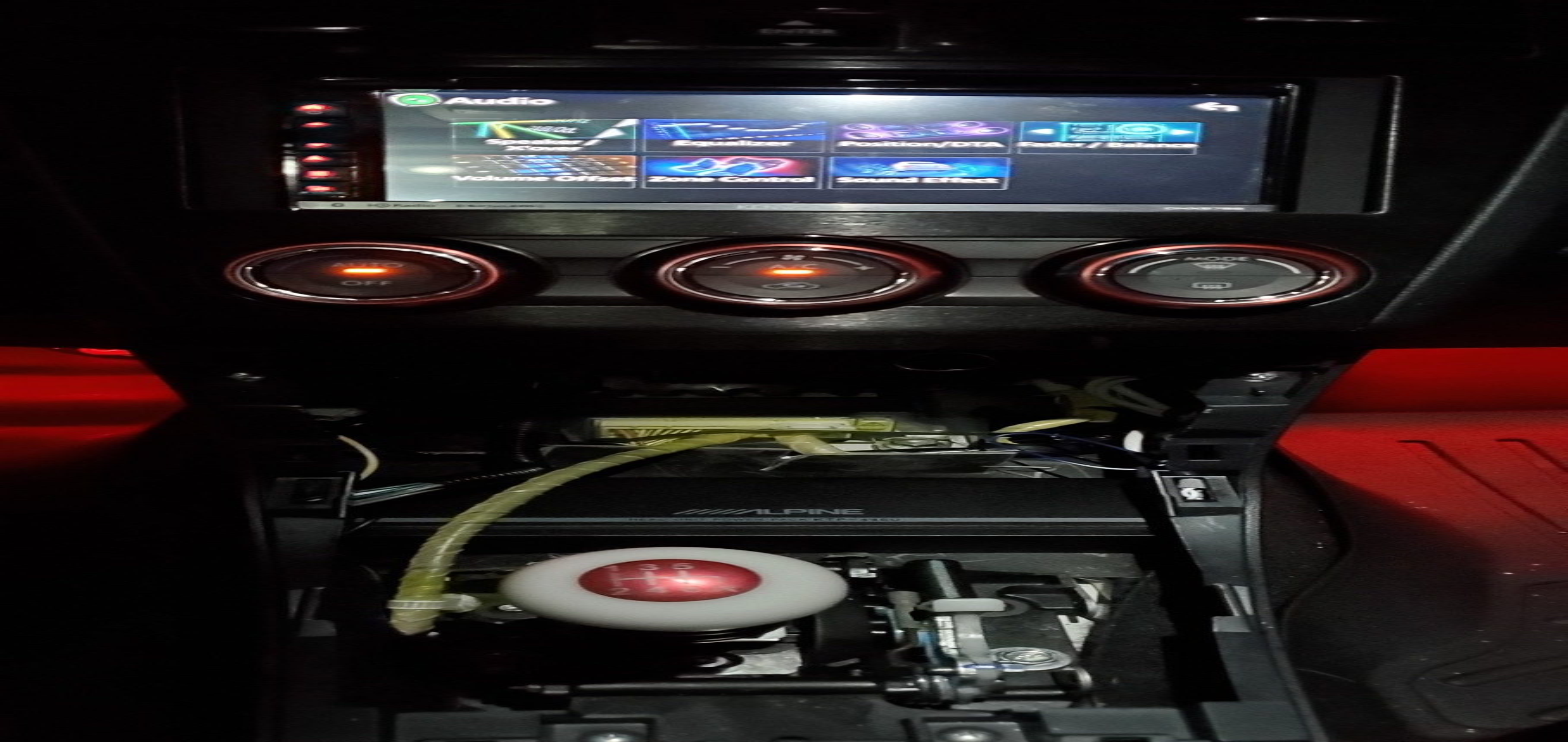 Alpine KTP-445U Power Pack Compact 4-channel car amplifier