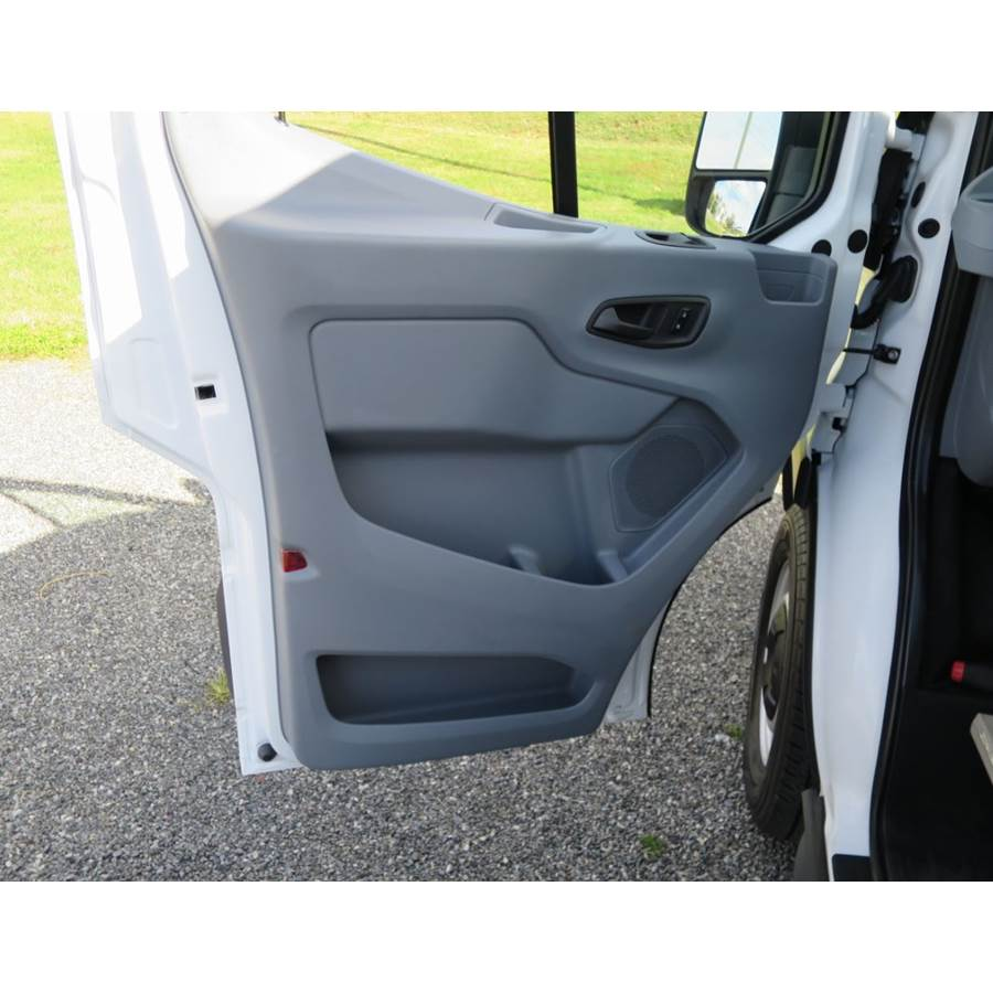 2018 Ford Transit Chassis Cab Front door speaker location