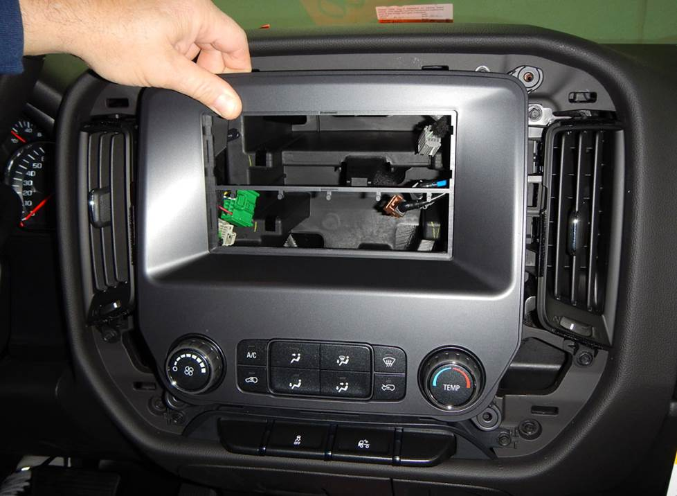 silverado sierra radio dash kit