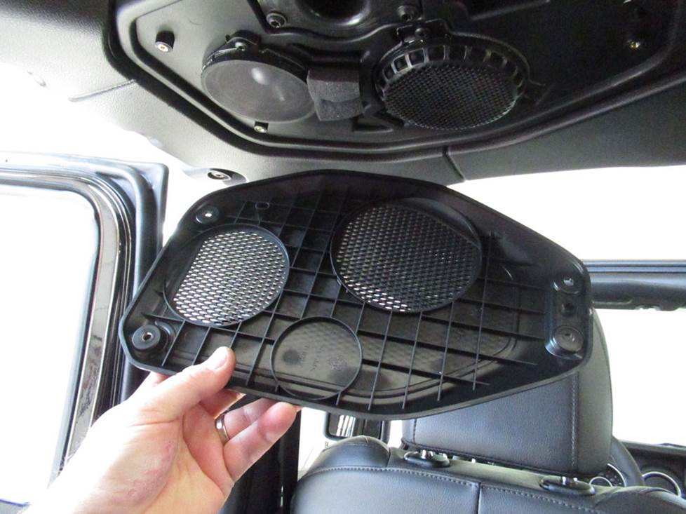 jeep wrangler soundbar speakers