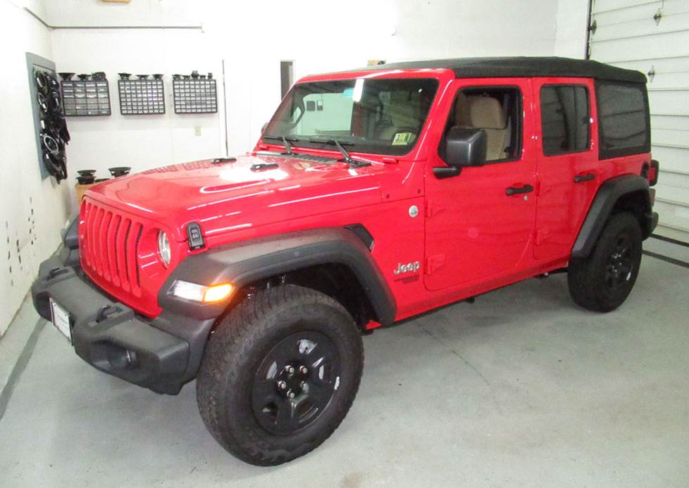jeep wrangler unlimited four-door