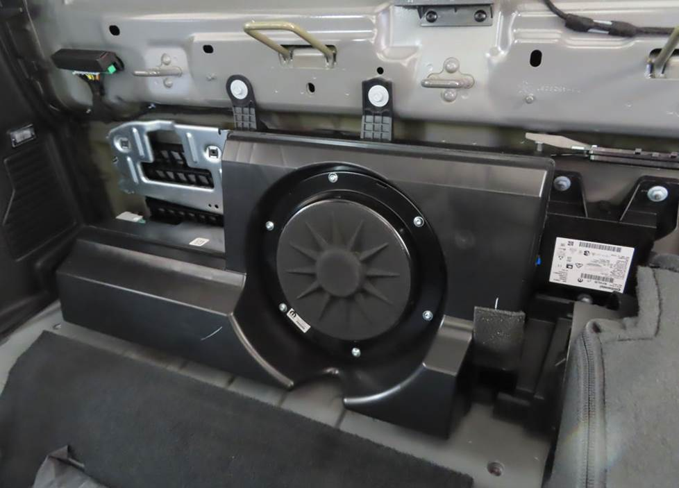 jeep gladiator subwoofer