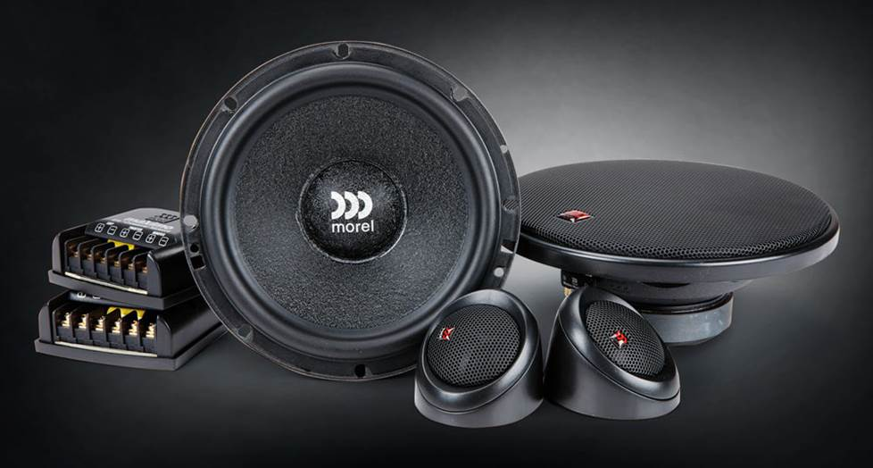 "Morel Maximo 6 6-1/2"" component speaker system"