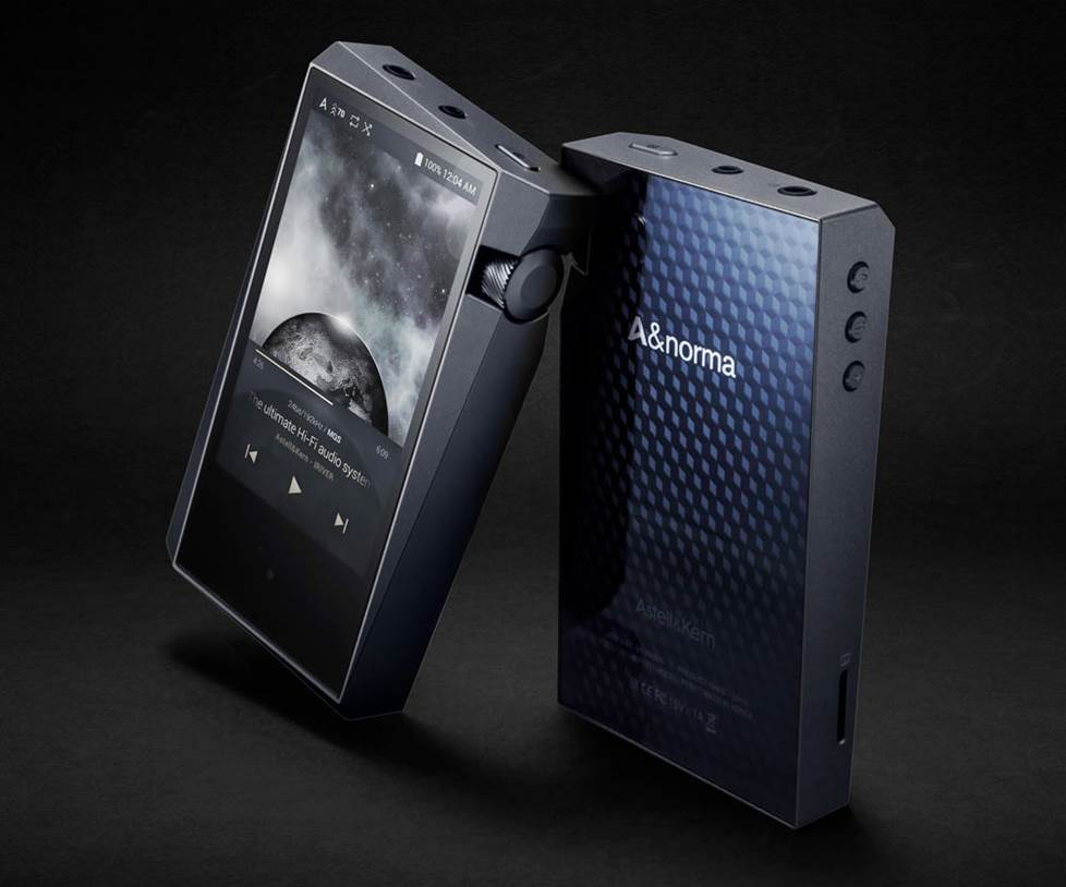 High-resolution portable music player