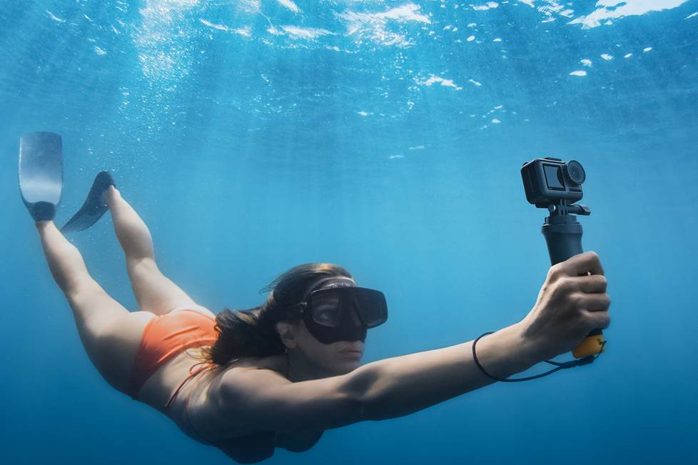 DJI Osmo Action camera scuba diving