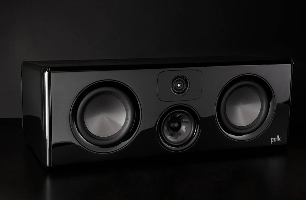 The Legend L400 is Polk's best-ever center channel, delivering exquisitely clear dialogue and center-stage sound effects.