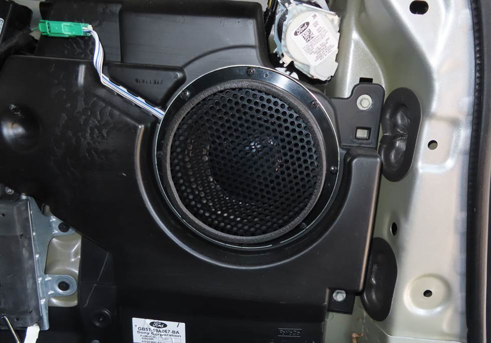 ford explorer sony subwoofer