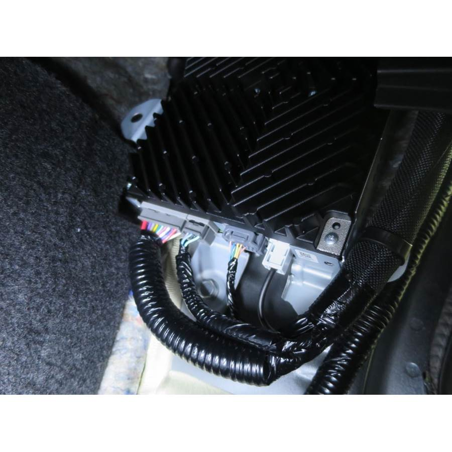2017 Honda Civic SI Factory amplifier