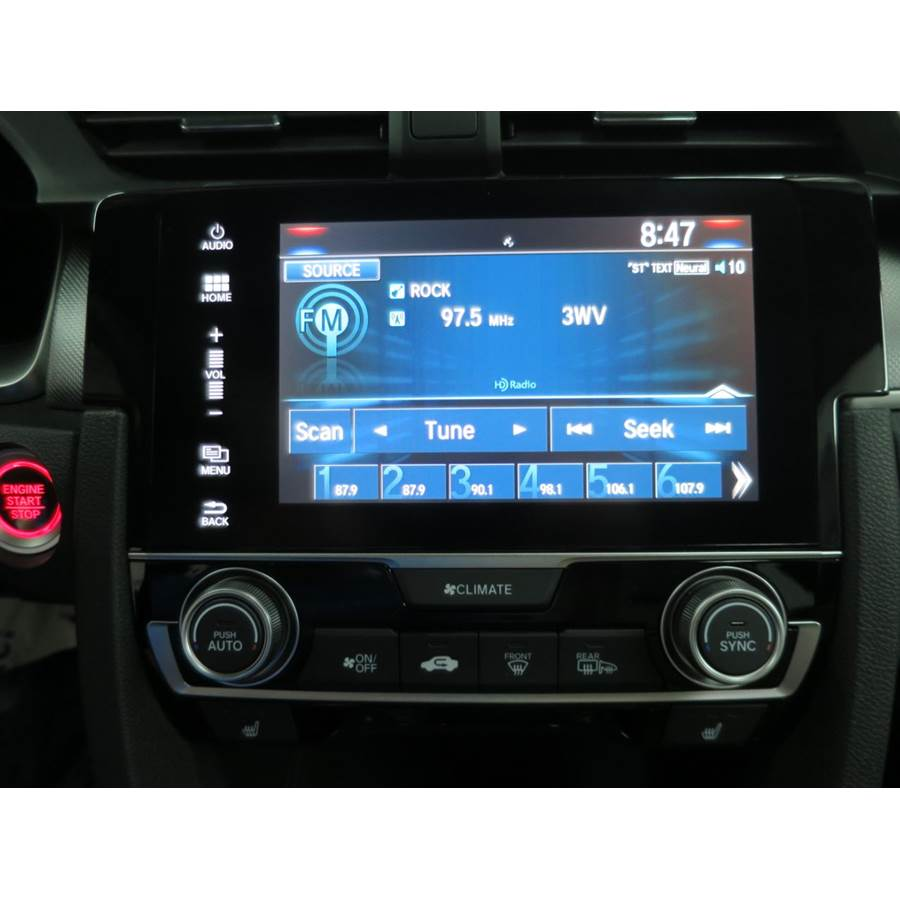 2017 Honda Civic SI Factory Radio