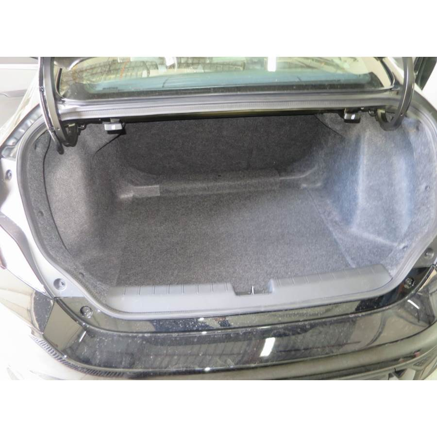 2017 Honda Civic SI Cargo space