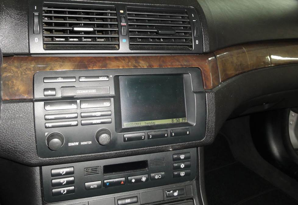 BMW 3 Series nav receiver