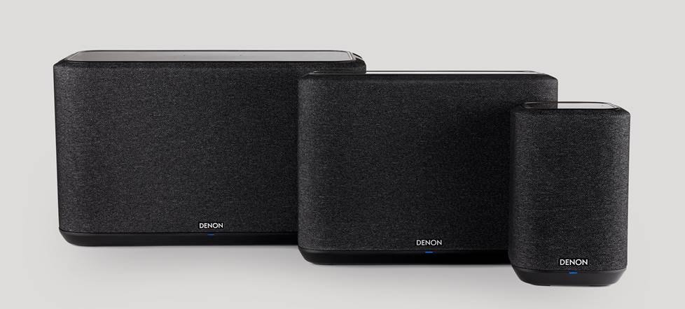 Denon Home wireless speakers