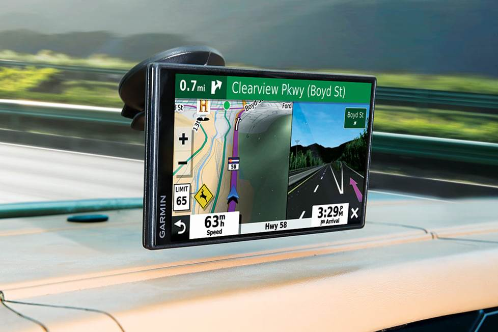 Garmin SmartDrive 55 & Traffic portable GPS navigator