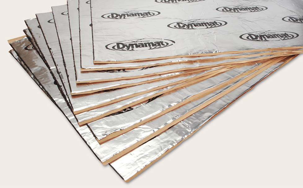 stack of dynamat sheets