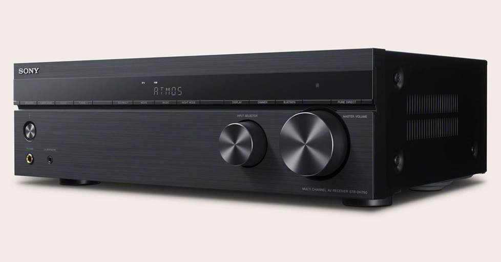 Sony STR-DH790 7.2-channel receiver with Bluetooth®, Dolby Atmos®, and DTS:XT