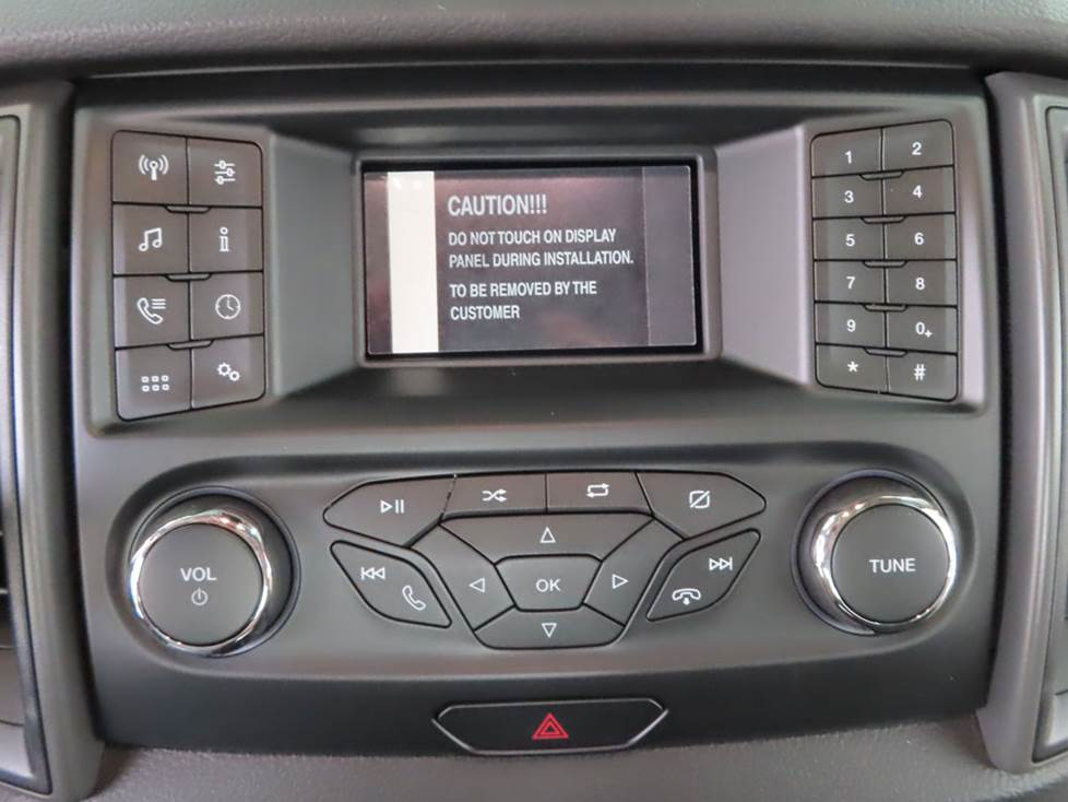 ford ranger base radio