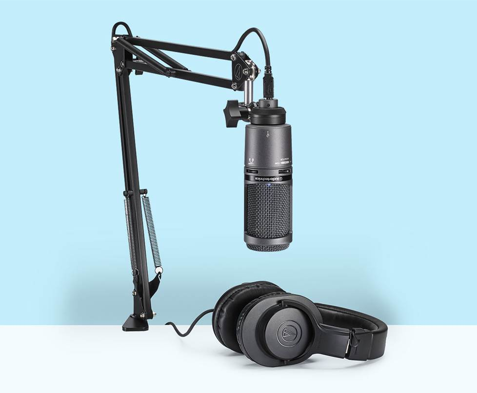 Podcasting using AKG gear