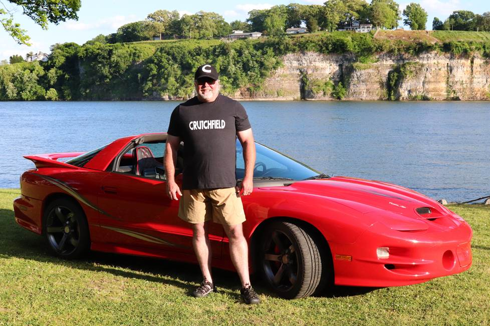 doc and his 2001 pontiac firebird