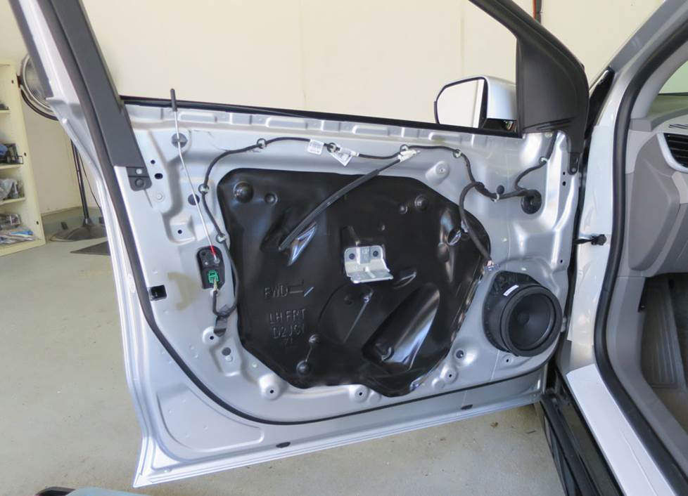 chevy volt front door speakers