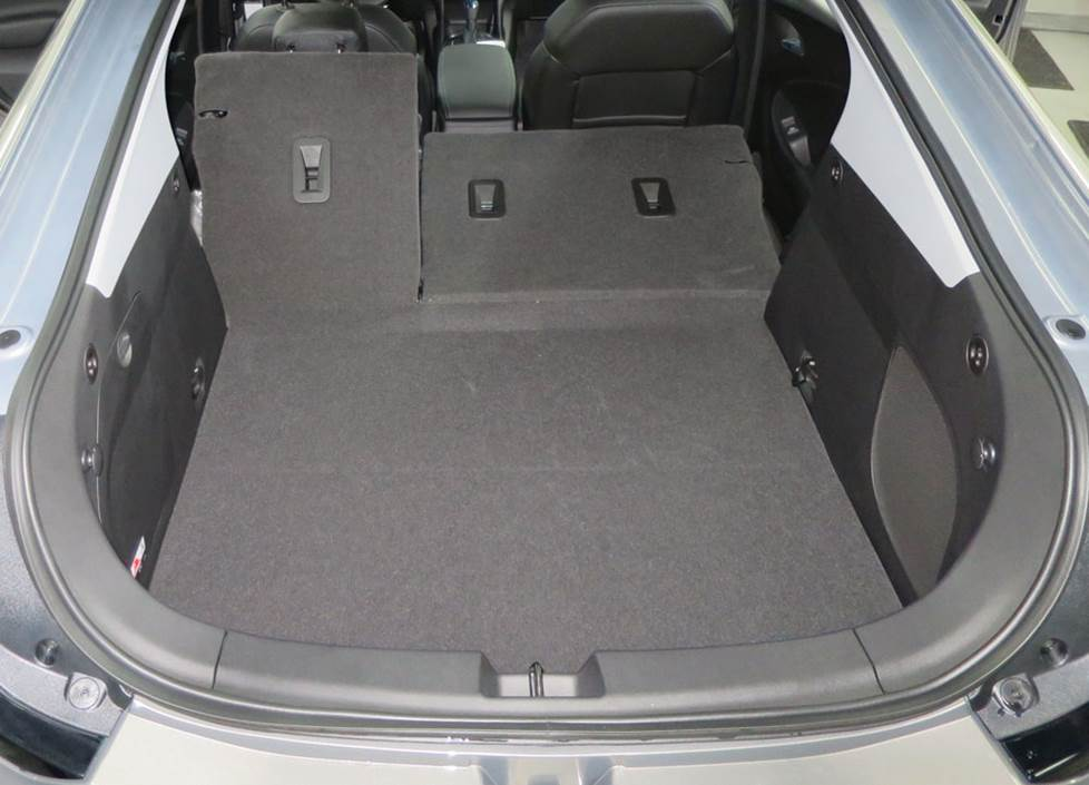 chevy volt cargo area