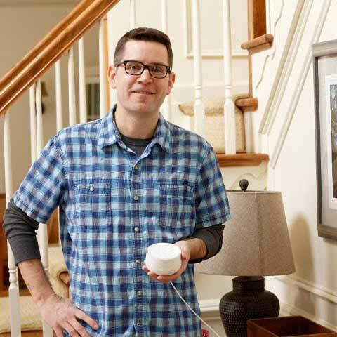 Dave's made his daily life so much more convenient by installing Smart Home devices.