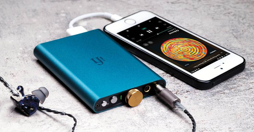 iFi Audio hip-dac Portable USB DAC and headphone amplifier
