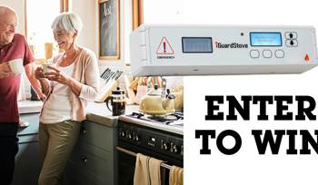 iGuardStove™ Automatic Stove Shut-Off Monitor sweepstakes