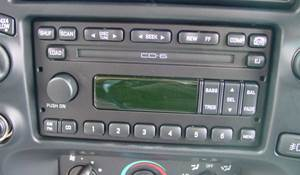 2000 Ford Explorer Factory Radio