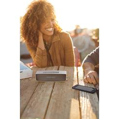The Bose® SoundLink® Mini brings your music with you almost anywhere.