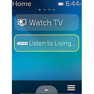 Logitech Harmony Ultimate Remote Sonos Screenshot