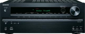Onkyo TX-NR515 Home theater receiver with 3D-ready HDMI switching, Internet-ready