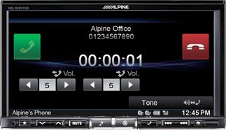 Alpine INE-W957HD navigation receiver
