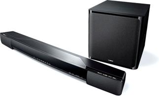 Yamaha YAS-203 home theater sound bar with wireless subwoofer