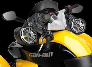 JL Audio SlamPak System 07-Up CAN-AM Spyder RS Roadster
