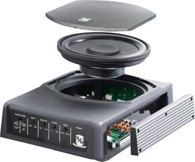 Sound Ordnance B 8ptd 125 Watt Compact Powered Subwoofer
