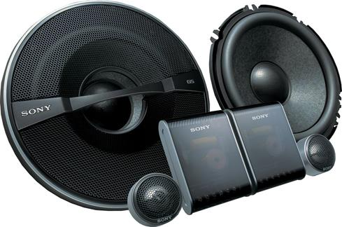 Sony XS-GS1720S speakers