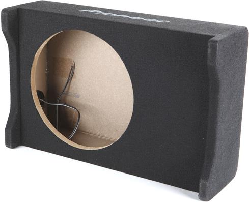 Shallow-mount subwoofer box