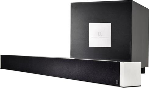 Definitive Technology W Studio sound bar and subwoofer